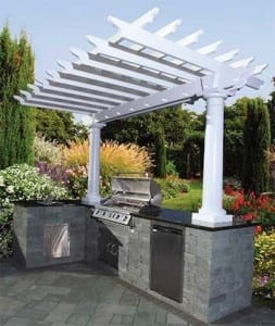 Pergolas & Outdoor Kitchen
