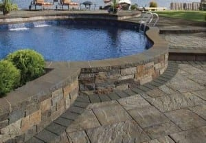 patio and waterscapes
