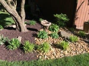 stone hardwood mulch